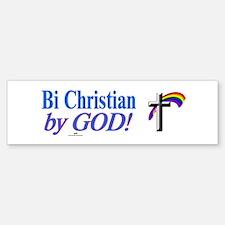 Bi Christian<br> Bumper Bumper Bumper Sticker