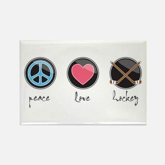 Peacelovehockey Magnets