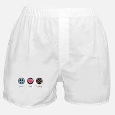 Cute Girl symbol Boxer Shorts