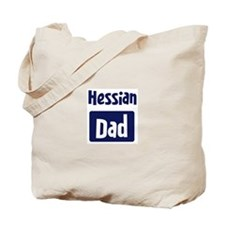 Hessian Dad Tote Bag