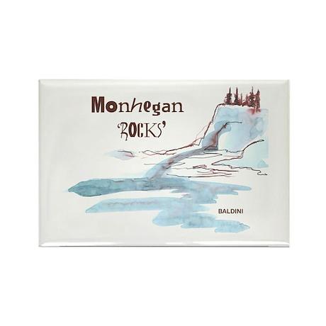 Monhegan Rectangle Magnet