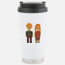 Ann and Andy 3 Stainless Steel Travel Mug