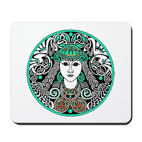 Brigid's Celtic Mousepad