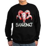 BAPHOMET SKULL Sweatshirt (dark)