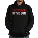 X OFFENDER In The SUN Hoodie (dark)