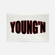 """""""YOUNG'N"""" Rectangle Magnet"""