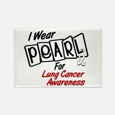 I Wear Pearl For Lung Cancer Awareness 8 Rectangle