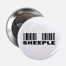 Sheeple Barcode Button