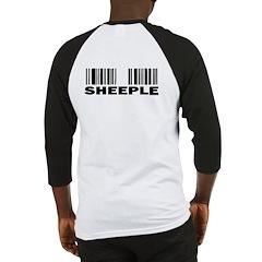 Sheeple Barcode Baseball Jersey