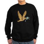 Golden Peace Sweatshirt (dark)