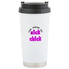 Tae Kwon Do Kick Chick Travel Mug