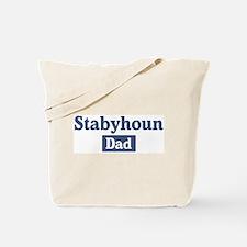 Stabyhoun dad Tote Bag