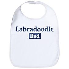 Labradoodle dad Bib