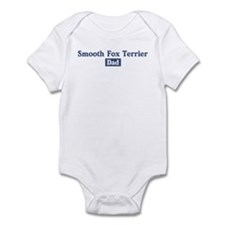 Smooth Fox Terrier dad Infant Bodysuit