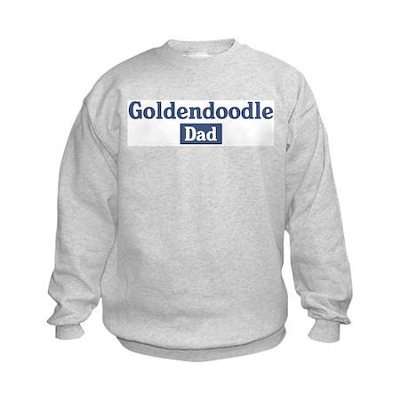 Goldendoodle dad Kids Sweatshirt