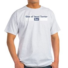 Glen of Imaal Terrier dad T-Shirt