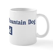 Entlebucher Mountain Dog dad Small Mug
