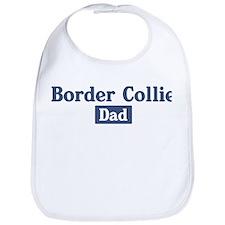 Border Collie dad Bib