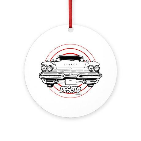 DeSoto Ornament (Round)