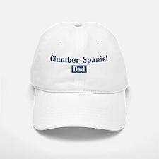 Clumber Spaniel dad Baseball Baseball Cap