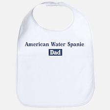 American Water Spaniel dad Bib