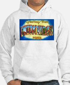 Pittsburgh Pennsylvania Greetings Hoodie