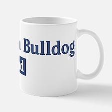 American Bulldog dad Mug