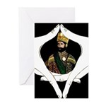 Conscious Rastafarian Art Greeting Cards (Pk of 10