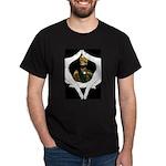 Conscious Rastafarian Art Dark T-Shirt