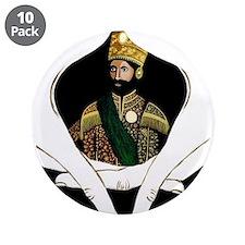 "Conscious Rastafarian Art 3.5"" Button (10 pack)"