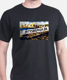 Pittsburgh Pennsylvania Greetings (Front) T-Shirt