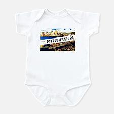 Pittsburgh Pennsylvania Greetings Infant Bodysuit