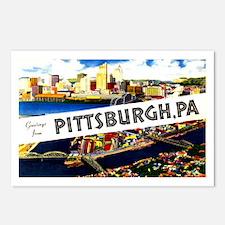 Pittsburgh Pennsylvania Greetings Postcards (Packa