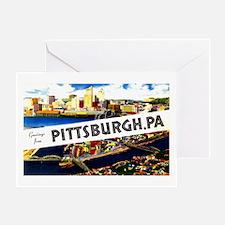 Pittsburgh Pennsylvania Greetings Greeting Card