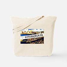 Pittsburgh Pennsylvania Greetings Tote Bag