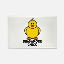 Singapore Chick Rectangle Magnet