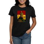Conscious Rastafarian Culture Art Women's Dark T-S
