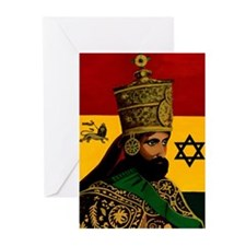 Conscious Rastafarian Culture Art Greeting Cards (