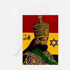 Conscious Rastafarian Culture Art Greeting Cards (