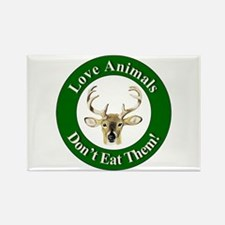 Love Animals Rectangle Magnet
