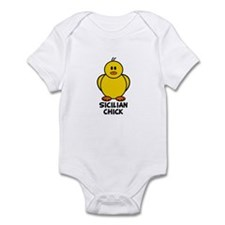 Sicilian Chick Infant Bodysuit