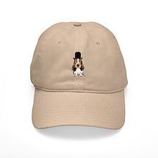 British hat Basset Hound Baseball Cap