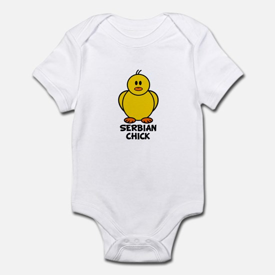 Serbian Chick Infant Bodysuit