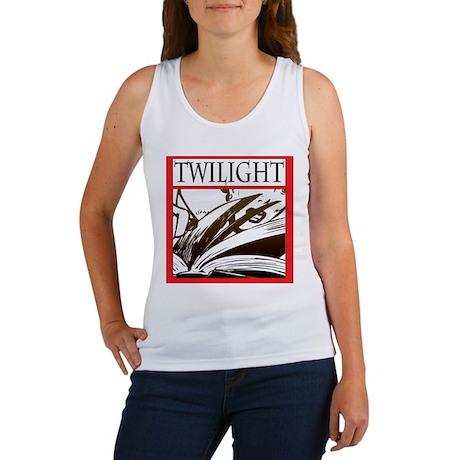 Scary Twilight Book Women's Tank Top