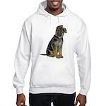 German Shepherd Puppy Hooded Sweatshirt