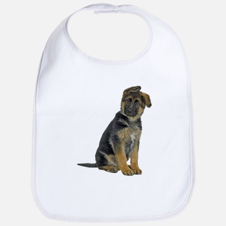 German Shepherd Puppy Bib