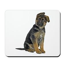 German Shepherd Puppy Mousepad