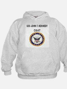 USS JOHN F. KENNEDY Hoodie