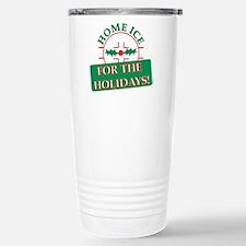 home ice holiday Travel Mug