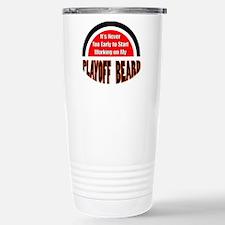 playoff beard Stainless Steel Travel Mug
